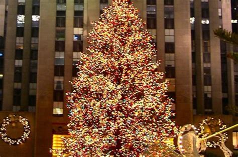 rockefeller center christmas tree lighting party