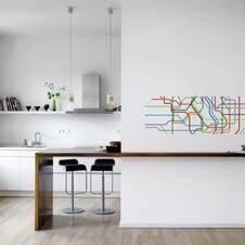 abwaschbare tapeten With markise balkon mit 3d tapeten für die küche