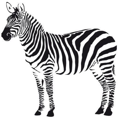 Wandtattoo Zebra Kinderzimmer by Zebra Wandtattoo