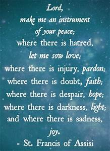Praying For Pea... Father Assisi Quotes