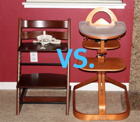 not your ordinary highchairs the svan vs the tripp trapp