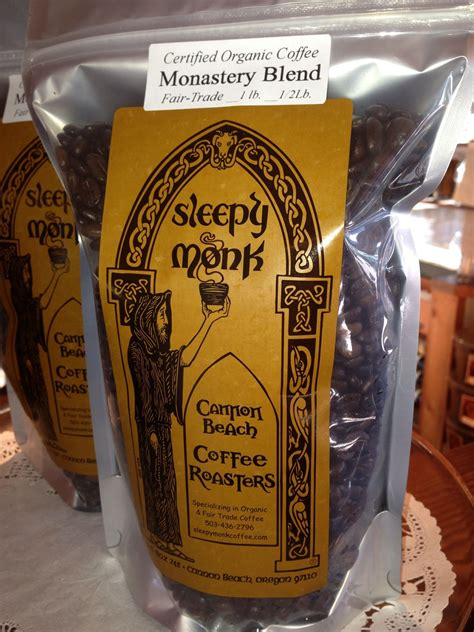 Is any of the information on this page incorrect? Sleepy Monk Coffee roasted in Cannon Beach | Organic fair trade coffee, Coffee roasting, Blended ...