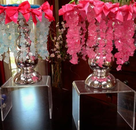 chic modern candy centerpieces candy sweet decor