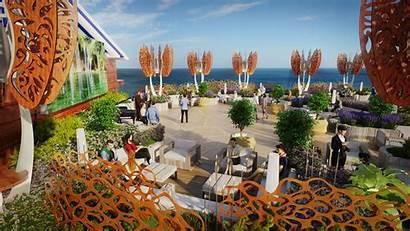 Celebrity Edge Cruises Rooftop Garden Magic Carpet