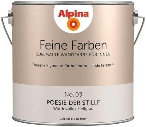 poesie der stille alpina alpina farbe 187 alpina feine farben poesie der stille 171 2 5 l kaufen otto
