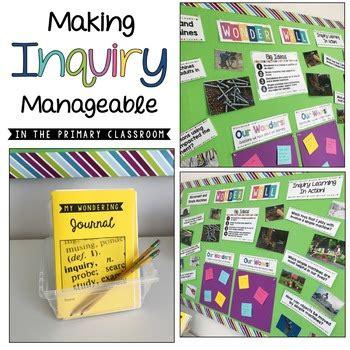 inquiry bulletin board grade  ontario science bundle