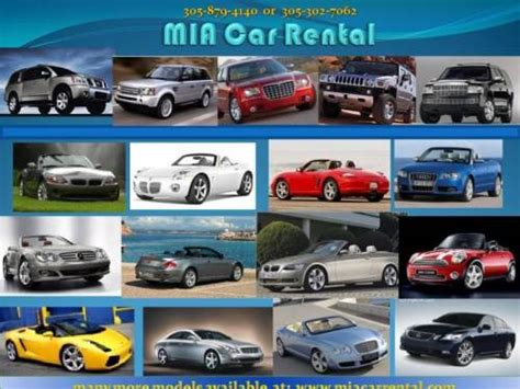 Rental Car Of Miami by Car Rental