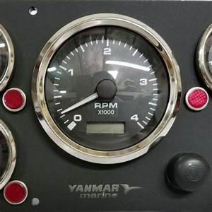 Yanmar Marine Engine Boat Instrument Panel C