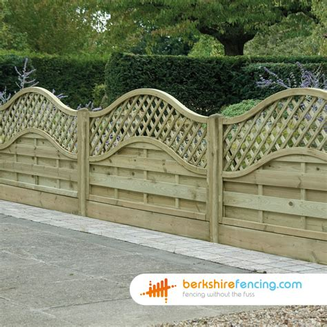Lattice Garden Fence Panels by Omega Lattice Top Fence Panels 6ft X 6ft