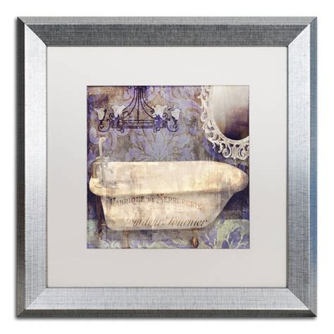 Shop wayfair for wall décor sale to match every style and budget. Trademark Art 'Le Bain Paris II' by Color Bakery Framed Graphic Art   Wayfair
