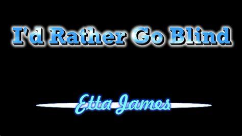 Etta James ( Lyrics )