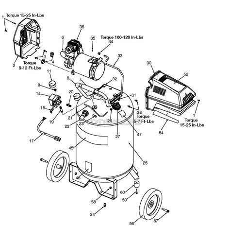919 167320 sears craftsman air compressor parts