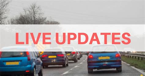 Live Updates After Multiple Vehicle Collision