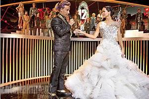 Katniss Wedding Dress Pictures - Hunger Games 2013 Pics