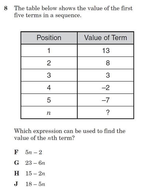 arithmetic sequence worksheet 5th grade free arithmetic