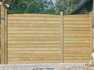 Cloture Jardin Bois : bois de cloture ~ Premium-room.com Idées de Décoration