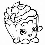 Coloring Pages Shopkin Shopkins Printable Cartoon Ice Cream Colouring April Sheets Cakes sketch template