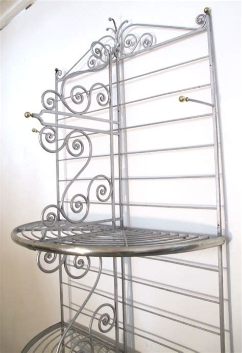 antique french bakers rack  stdibs