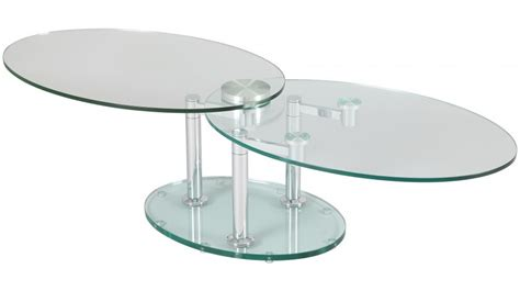 but chaise de bureau table basse de salon ovale en verre table basse design