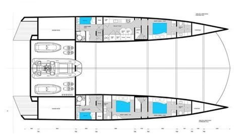 Catamaran Free Plans Pdf by 90 Sunreef Power Catamaran Layouts Aeroyacht Ltd