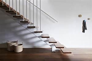 Escalier Metal Et Bois : escalier design en bois et m tal ~ Dailycaller-alerts.com Idées de Décoration