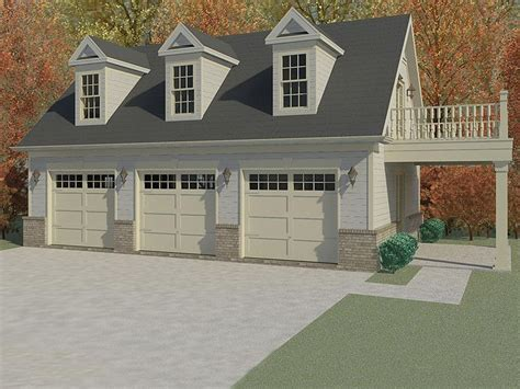 Garage Apartment Plans  3car Garage Apartment Plan With