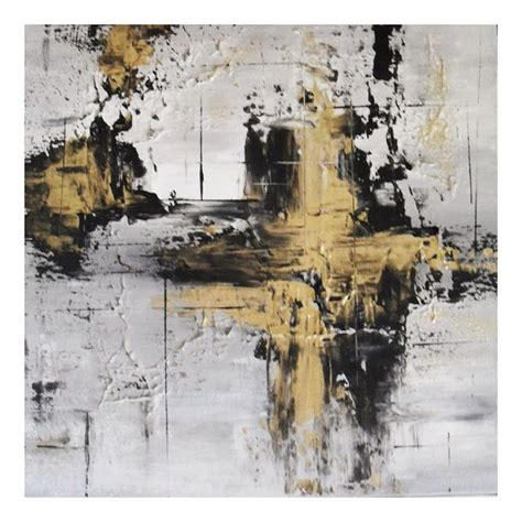 Abstract Black Gold Painting by Black And Gold Painting Gold Abstract Painting By