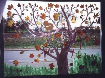 Herbst Fingerfarbe Fenster by Pin Kolschen Auf Herbst Und Herbstdeko