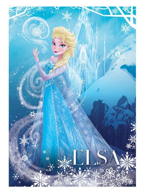frozen poster papier peint reine des neiges elsa frozen reine des neiges decokids