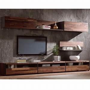 Modern Simple Tv StandWalnut Wood Veneer Tv Cabinet Buy