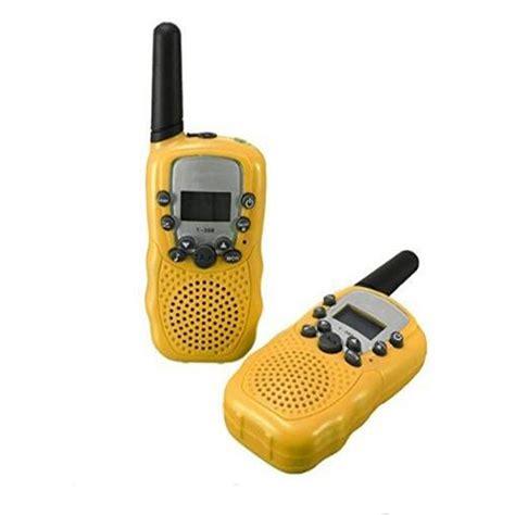 walkie talkie 5km range 2016 t388 2pcs mini walkie talkie 3 5km range 22 channel frs gmrs uhf two way radios coloful