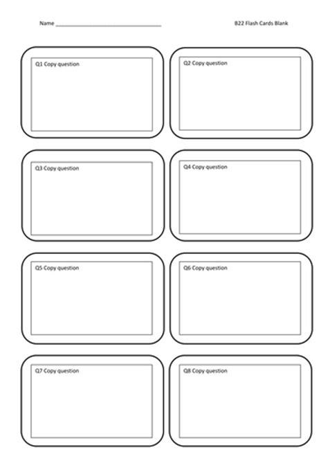 flash cards blank  jamesbradyuk teaching resources