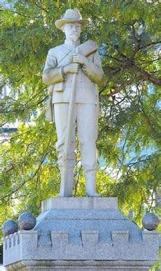 soldiers garb generates doubts  monument news
