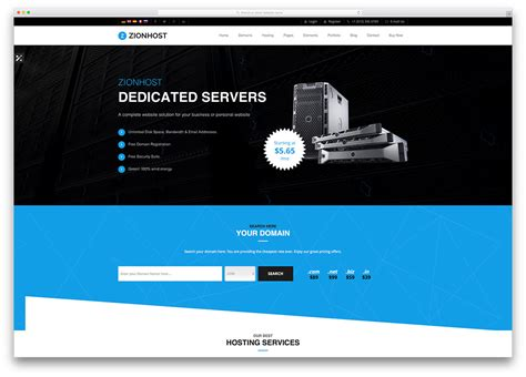 Best Hosting by 26 Best Hosting Themes With Whmcs Integration