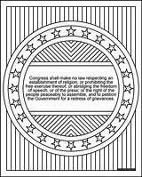 Amendment Coloring 1st Bill Transparent Rights Version Government Series Donteatthepaste Redress Paste Eat Don Grievances 1a sketch template