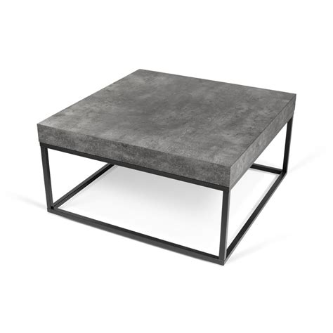 PETER CONCRETE COFFEE TABLE   Statement Furnishings Outlet