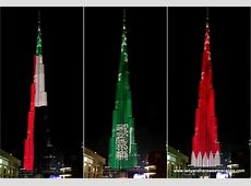Burj Khalifa LED Show in Photos and Video Lady & her