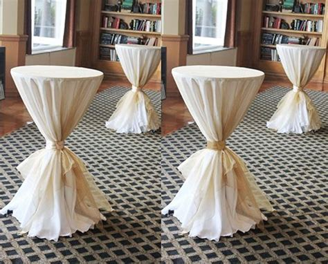 high top cocktail table cloths 265 best images about cocktail table couture on pinterest