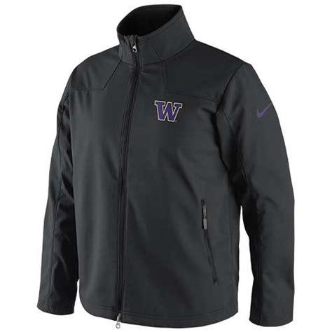 nike washington huskies full zip soft shell jacket
