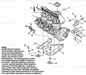Polaris Watercraft 1997 Oem Parts Diagram For Engine