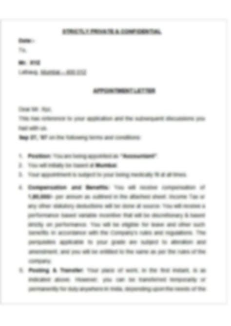 auditor appointment letter format create  auditor
