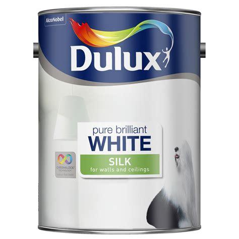 dulux pure brilliant white silk emulsion  painting