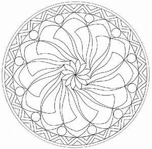 Dessin De Plume Facile : coloriage mandala imprimer ~ Melissatoandfro.com Idées de Décoration