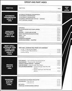 1981 Ford Truck Repair Shop Manual F100