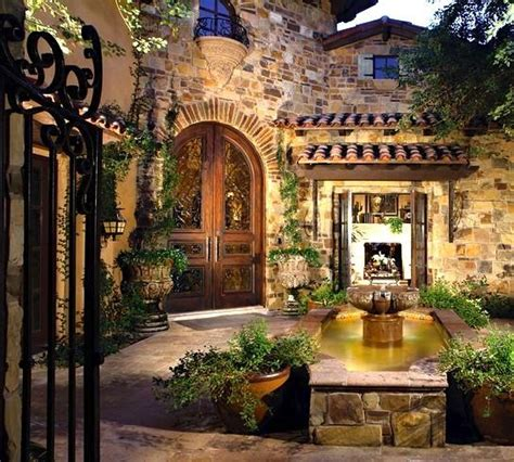 landscape   tuscan house spanish style homes mediterranean home decor