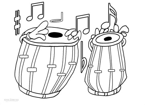 Printable Music Note Coloring Pages For Kids