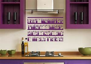 colorful bottles kitchen wall stickers adhesive wall sticker With kitchen colors with white cabinets with extra large bumper stickers