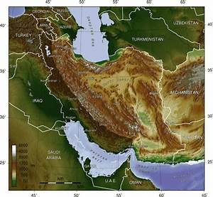 Trip to the geographic features of the middle east