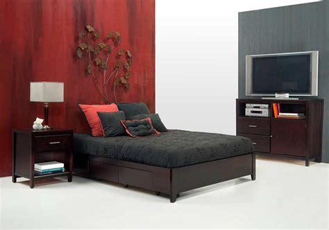 simple platform bed ms nile  headboard platform beds