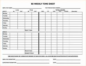 8 biweekly payroll timesheet template simple salary slip With wages timesheet template